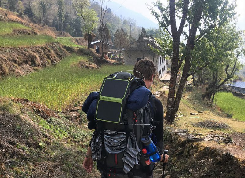 Do I need a solar charger when hiking the EBC trek in Nepal