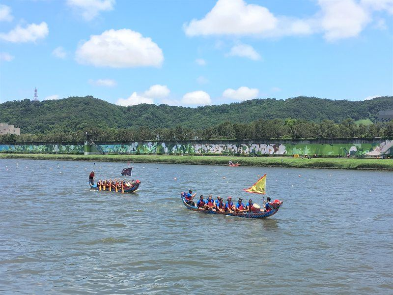 Dragon boat festival in Taipei