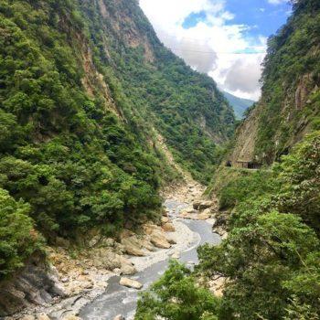 Taroko Gorge National Park in Taiwan
