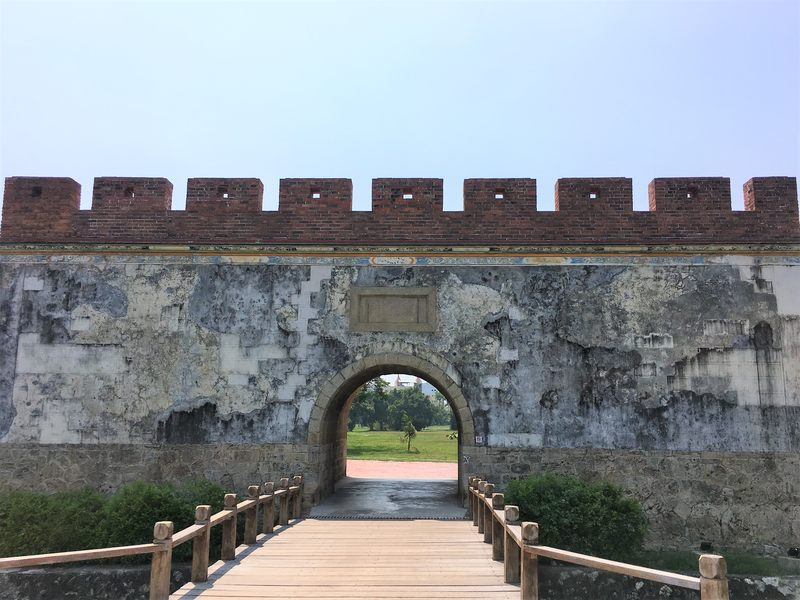 The Fongyi Gate is the only gate of the old city of Zuoying still standing and a must visit place in Kaohsiung