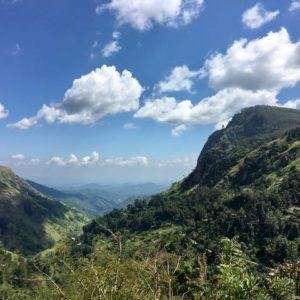 Hiking in Ella Sri Lanka Little Adams Peak Nine Arch Bridge Ella Rock