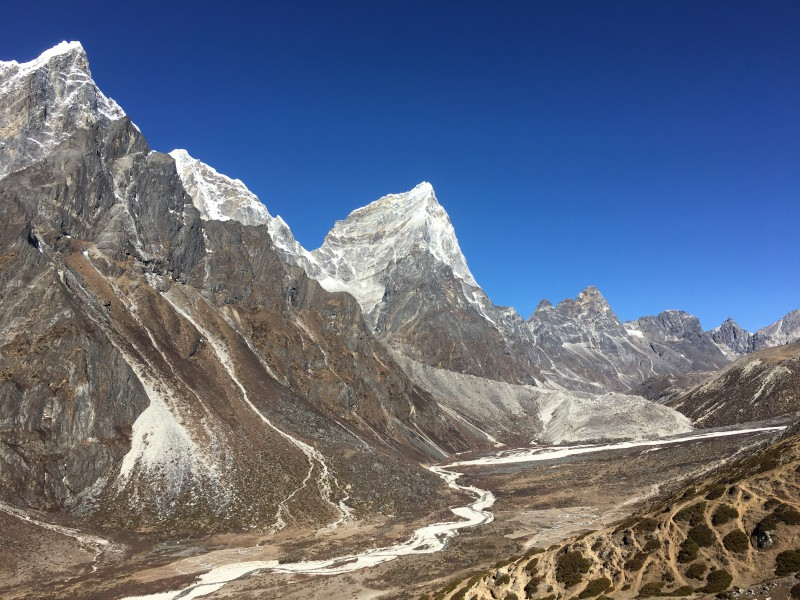 Hiking the Everest Base Camp trek Nepal Jiri to EBC and Gokyo