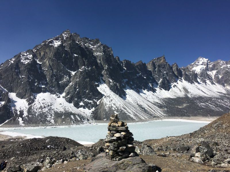 Hiking the Jiri to EBC trail - Day 18 Gokyo 4th Sacred Lake