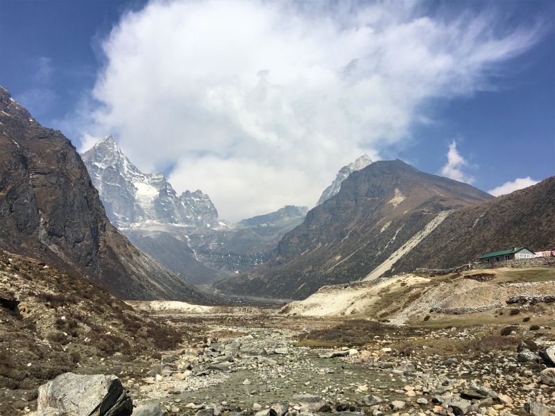 Hiking the Jiri to EBC trail - Day 19 from Gokyo to Namche Bazaar