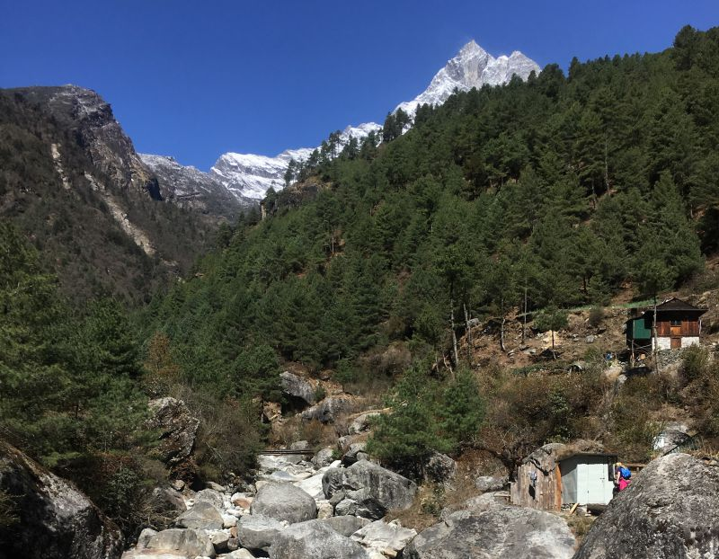 Hiking the Jiri to EBC trail - Day 21 Namche Bazaar to Monjo