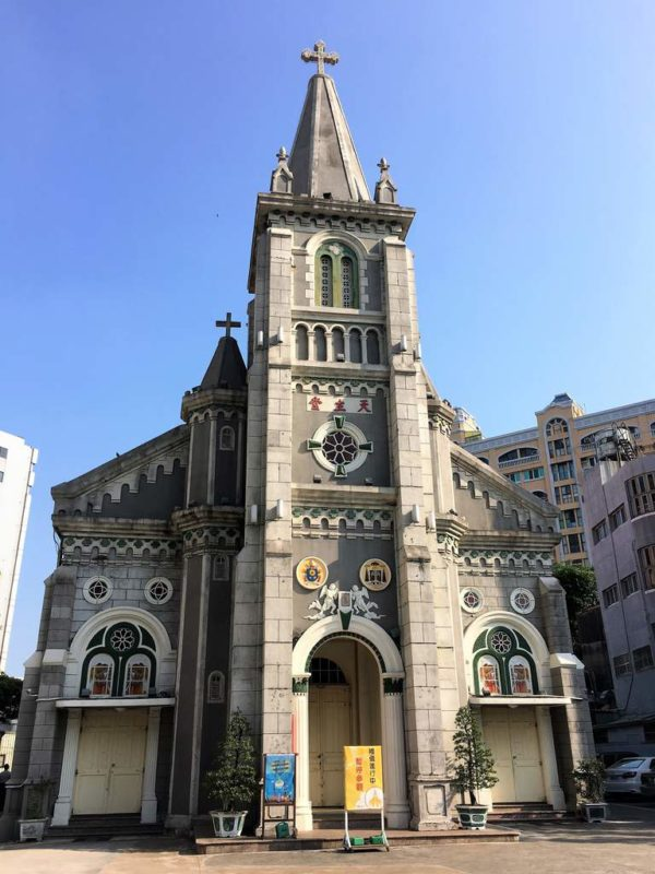 During our sightseeing tour around Kaohsiung we came across the Holy Rosary Cathedral