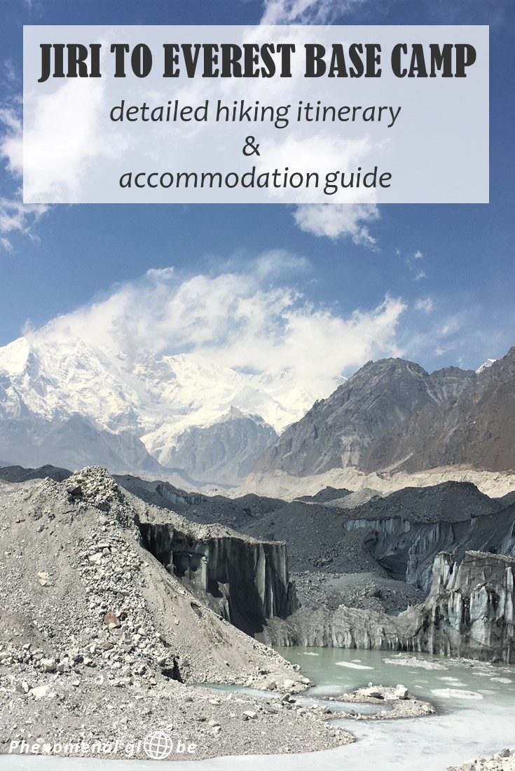 Detailed itinerary & accommodation info to help you plan your hike from Jiri To Everest Base Camp. Incl. hiking times, lodges along the trek + tips&tricks! #Nepal #Hiking #EBC