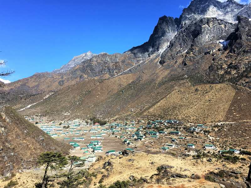Jiri to EBC trek acclimatization hike to Khumjung, Khunde and Shyangboche