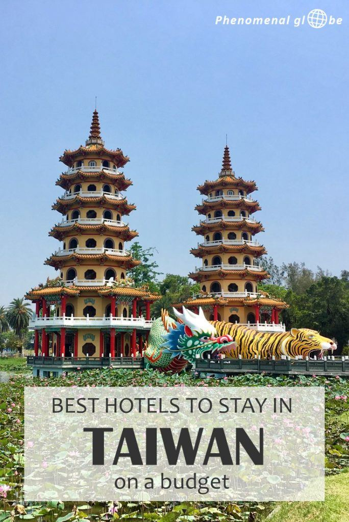 Looking for budget accommodation in Taiwan? Check out these 10 budget hotels & Airbnb rooms between €17 and €39 per night. Included are cheap places to stay around Taiwan (Taipei, Kenting, Tainan, Taichung, Sun Moon Lake and Hualien). #Taiwan #BudgetHotel