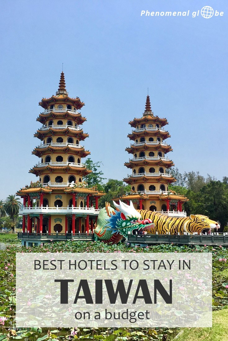 Looking for the best budget accommodation in Taiwan? We stayed at 10 hotels & Airbnb rooms and paid €23 per night on average (o.a. Taipei, Kenting, Tainan & Hualien). #Taiwan #accommodation