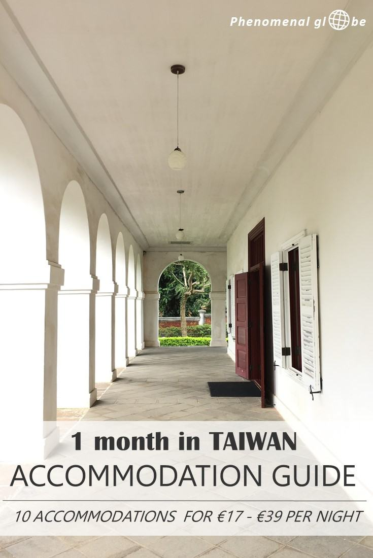Looking for budget accommodation in Taiwan? We stayed at 10 hotels & Airbnb rooms and paid €23 per night on average (o.a. Taipei, Kenting, Tainan & Hualien).