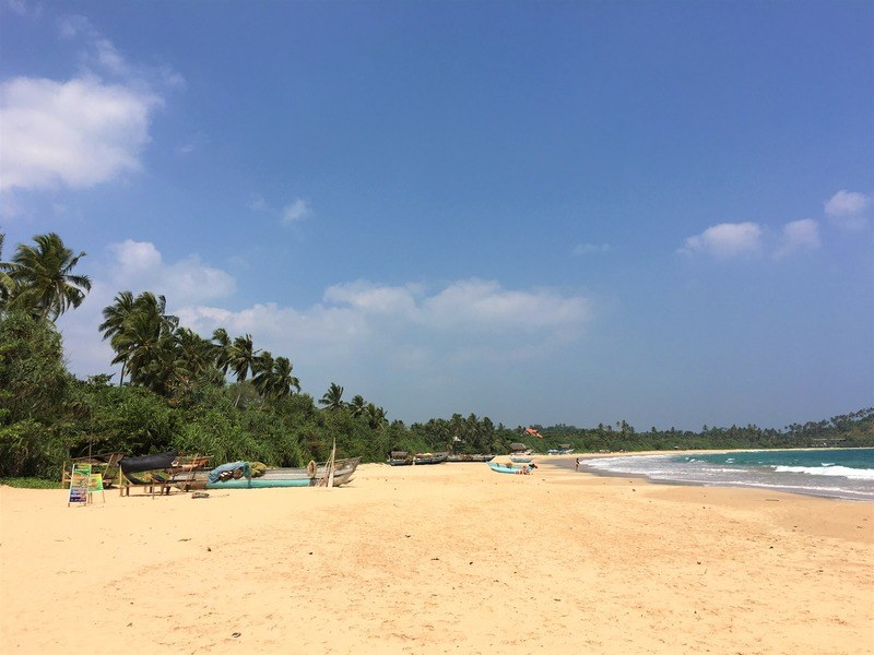 Talalla beach, South Coast Sri Lanka