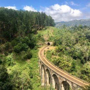 Things to do in Ella Sri Lanka hiking to Nine Arch Bridge
