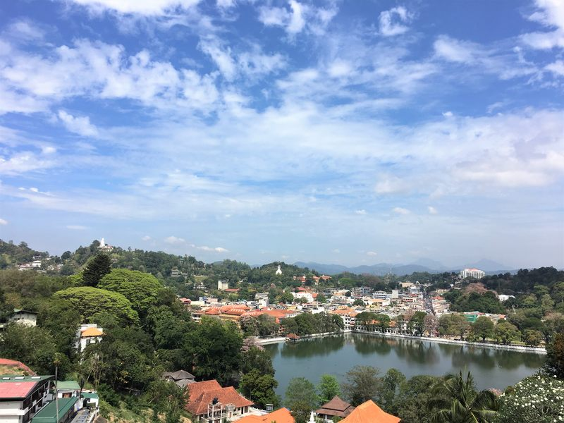 View over Kandy, Sri Lanka