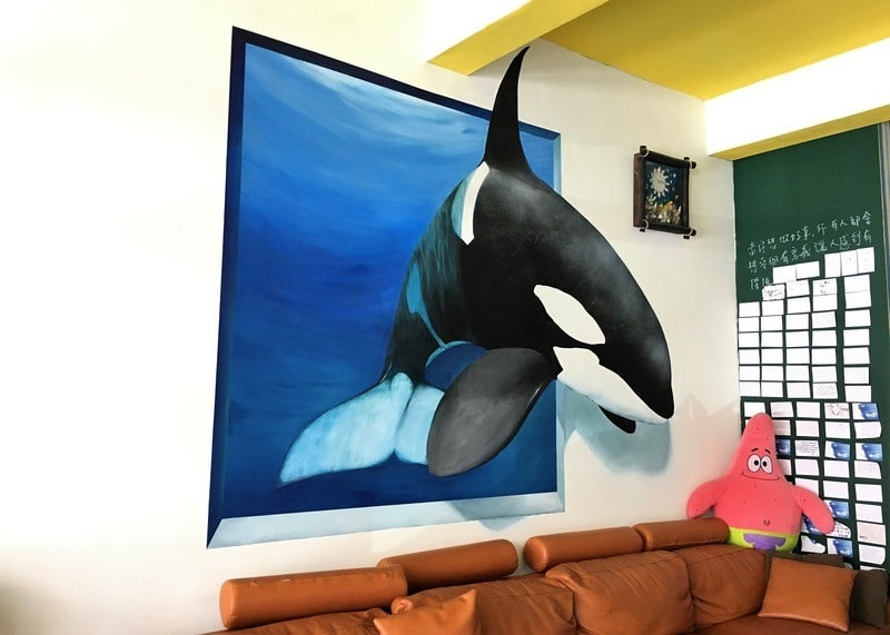 The Light Blue Bed and Breakfast is a great budget accommodation in Hengchun
