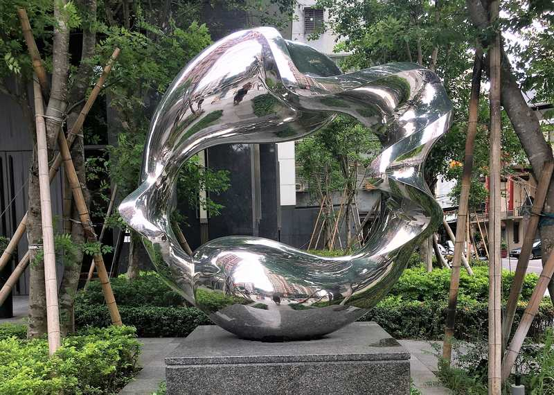 Sculpture in Taipei, Taiwan
