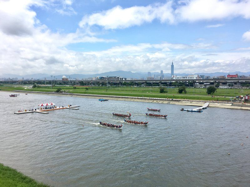 Places to visit in Taipei - Dragon Boat Festival Dajia Riverside Park