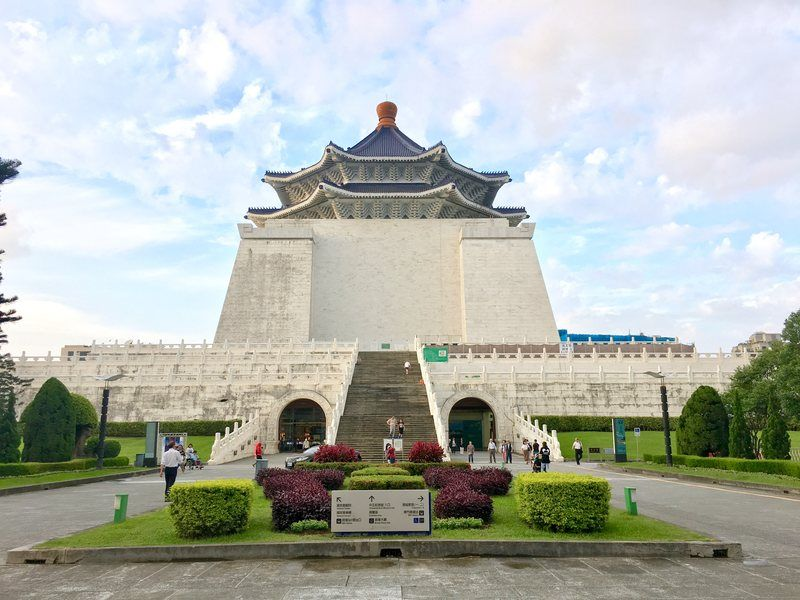 The Chang Kai-Shek Memorial Hall in Taipei