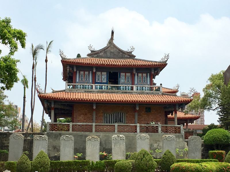 The Chihkan Tower is a historic site in Tainan