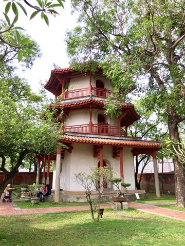 One of the buildings on the Confucius Temple complex in Tainan