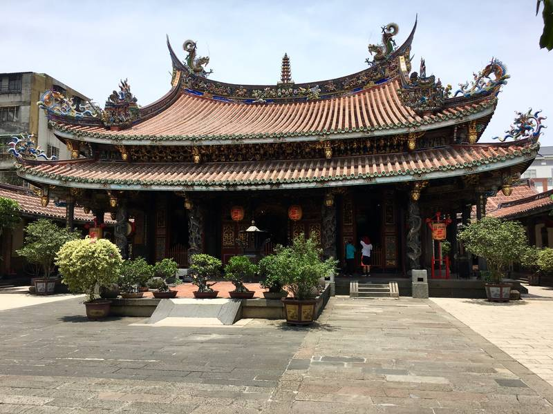 Dalongdong Baoan Temple in Taipei