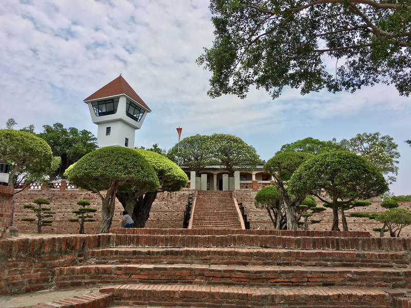 Fort Zeelandia is a historic sight to visit in Tainan