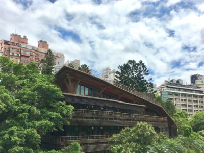 Hot spring village Beitou Taipei Taiwan