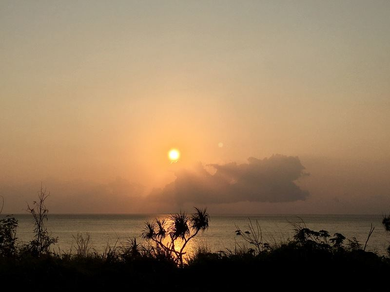 Sunset at the West coast of Kenting National Park