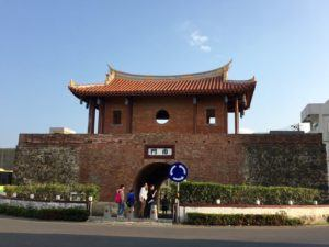 The four old city gates are one of the main attraction in Hengchun