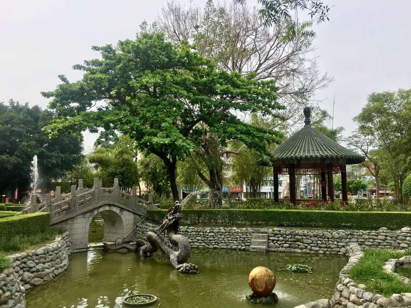 Peaceful Koxinga Shrine in Tainan