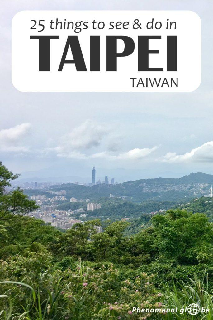 Planning a trip to Taipei? Here you can find 25 amazing things to see and do in Taipei, the capital of Taiwan. This guide will help you plan the perfect Taipei trip! #Taipei #Taiwan