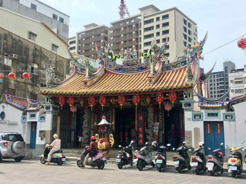 The Taiwan Fu City God Temple in Tainan
