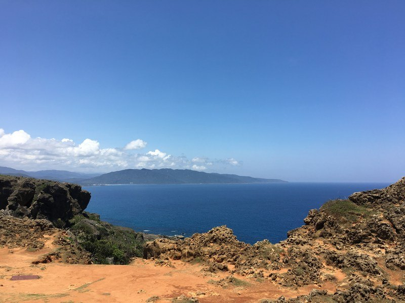 The rugged East coast of Kenting National Park