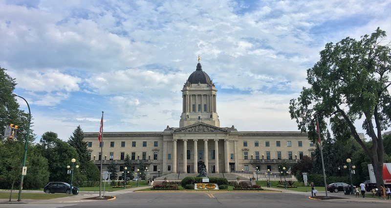 One of the best things to do in Winnipeg is take a tour around the Manitoba Legislative Building