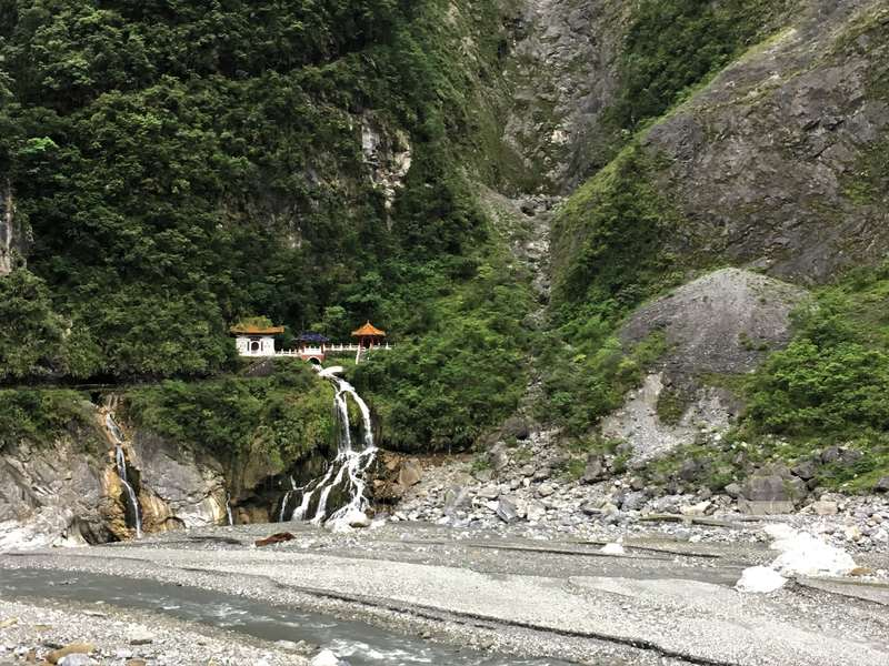 Eternal Spring Shrine in Taroko Gorge - Taiwan