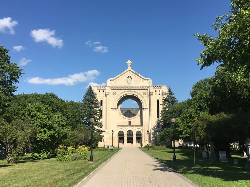 St. Boniface in the French Quarter is an important place and neighborhood in Winnipeg