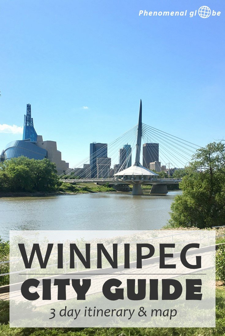 Wondering how to plan the perfect Winnipeg weekend? Check out this complete city guide for Winnipeg, capital of Manitoba in beautiful Canada. Check out the best things to do in Winnipeg, where to stay, what to eat and how to get around! Visit the historic Exchange District, hop on the Winnipeg Trolley Tour and discover the secrets of the Manitoba Legislative Building. Relax at Thermëa Spa and eat your way around the Forks Market. Winnipeg has it all, all you need to do is visit! #winnipeg #manitoba #canada