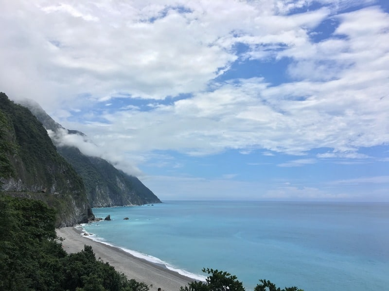 The Qingshui Cliff are one of the eight wonders of Taiwan