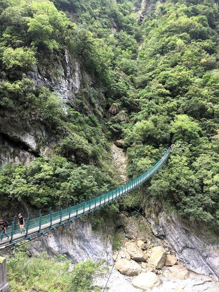 Swallow Grotto trail Taroko Gorge in Taiwan
