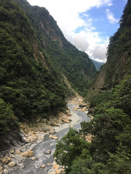 Swallow Grotto trail Taroko National Park Taiwan Hualien East Coast Taiwan