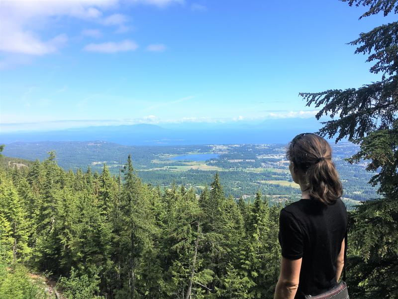 Best hikes on Vancouver Island - hike to the top of Mount Benson