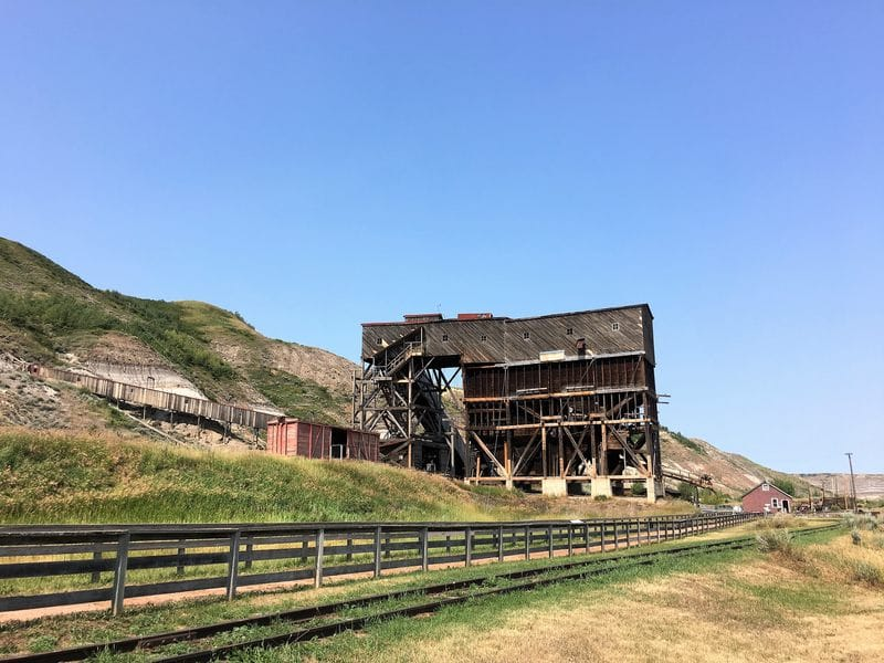 Atlas coal mine - the last wooden coal tipple in Canada