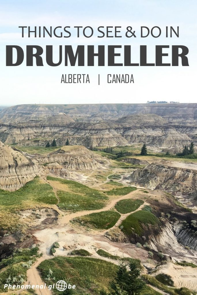 Planning a trip to Drumheller? This detailed Drumheller itinerary includes the best things to do in Drumheller, free campsites, how to get to Drumheller, and a (printable) map with all the Drumheller attractions. #Drumheller #Alberta #Canada