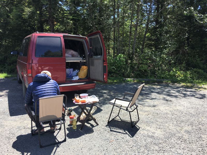Free overnight camping in Vancouver - where to sleep in your car in Vancouver Canada