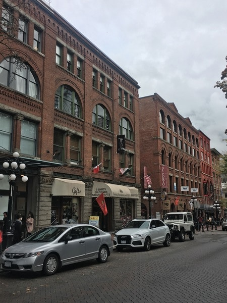Gastown - the best neighborhoods to explore in Vancouver