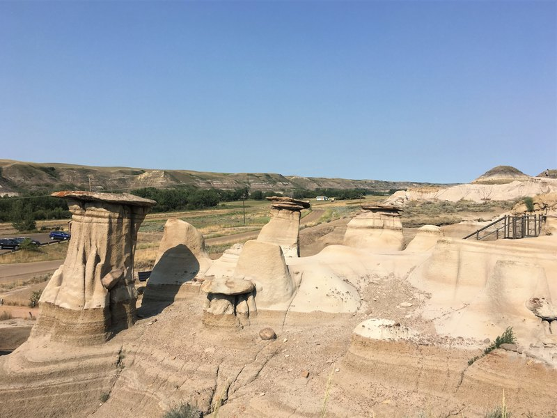 Hoodoos Drumheller on the Hoodoo trail