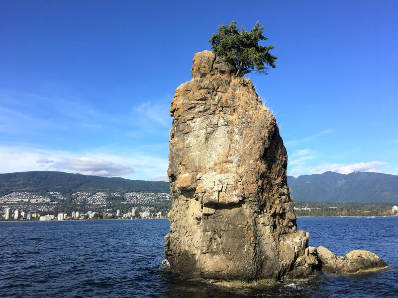 Siwash Rock in Stanley Park Vancouver - reasons to visit Vancouver