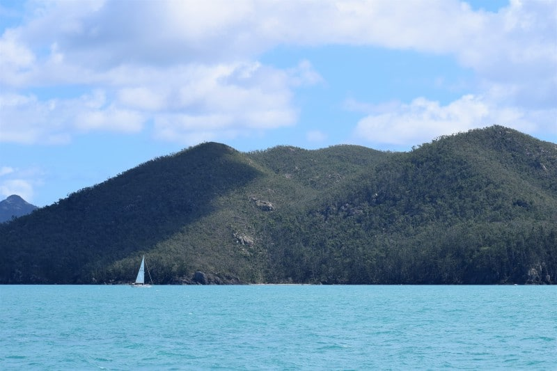 A day in the Whitsunday Islands National Park Australia