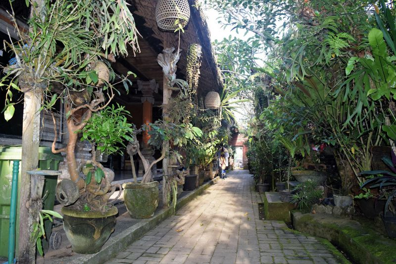 A family compound on Bali Indonesia - how does family life work on Bali