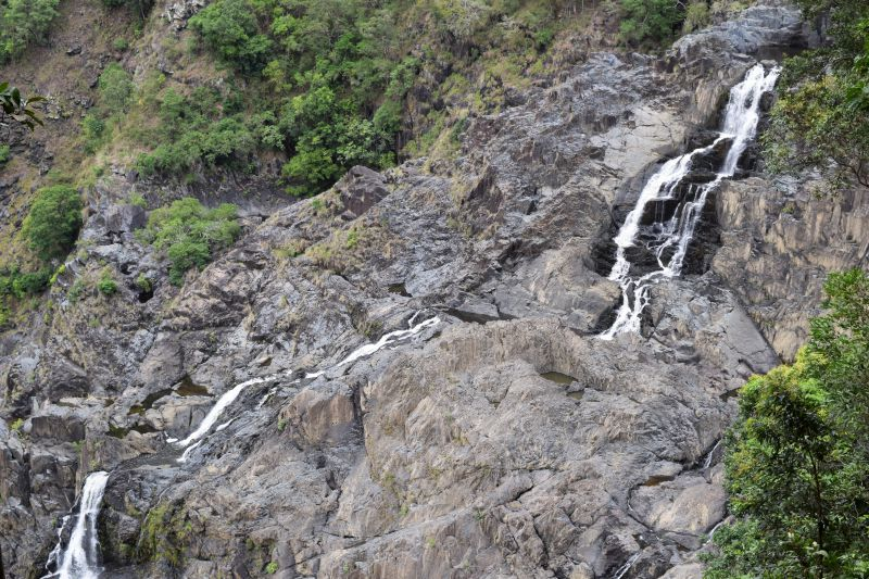 Barron Falls Station of the Skyrail Rainforest Cableway - famous waterfalls Cairns